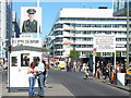 UUU9018 : Checkpoint Charlie, Friedrichstrasse by Colin Smith