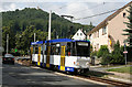 UVS9664 : Biesnitz, Strassenbahn by Alan Murray-Rust