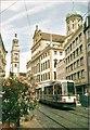 UPU4059 : Perlachturm und Rathaus, Augsburg by Colin Smith