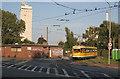 ULB3690 : Endhaltestelle Rheinhafen, Linn, Krefeld by Alan Murray-Rust