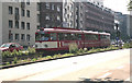 ULB5644 : Tram on Route 7 near Heumarkt by Dr Neil Clifton