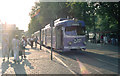 ULB5544 : Tram on Route 1 at  Neumarkt by Dr Neil Clifton