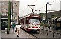 ULB4576 : Tram outside Dusseldorf  Hbf by Dr Neil Clifton