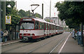 ULB3875 : Coupled trams outside Neuss Hbf by Dr Neil Clifton