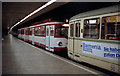 ULB5645 : Koln:  Tram in subway at DomHbf by Dr Neil Clifton