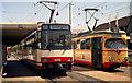 UMV5627 : Trams outside Karlsruhe Hauptbahnhof by Dr Neil Clifton