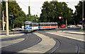 UNB3184 : Tram near Wilhelmshoehe station, Kassel by Dr Neil Clifton
