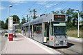 UMU1113 : Freiburg:  tram at Innsbrucker Strasse terminus by Dr Neil Clifton