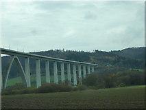 UNB4057 : Fuldabrücke (ICE) bei Binsförth by Udo und Joan Fugel