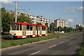 UVT6897 : Birkenallee, Frankfurt (Oder) by Alan Murray-Rust
