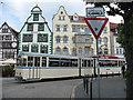 UPB4249 : Alte Straßenbahnwagen in Erfurt (Old tramcar in Erfurt) by Stephen Craven