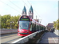 UMU1316 : Tram uber Freiburg Hbf by Colin Smith