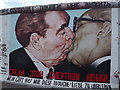 UUU9418 : East Side Gallery - Brotherly Kiss by Colin Smith