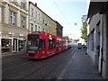 UUU3309 : Brandenburg - Tram in der Hauptstrasse by Colin Smith