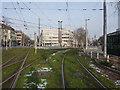 UNV1505 : Bad Cannstatt: Stadtbahngleise am Wilhelmsplatz by Hansjörg Lipp