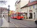 UVT5434 : Cottbus - Tram in der Altstadt (Tram in the Old Town) by Colin Smith