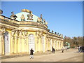 UUU6607 : Sanssouci - Suedseite des Schlosses (South Facade of Palace) by Colin Smith