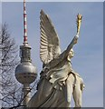 UUU9119 : Berlin - Schlossbrueckestatue by Colin Smith