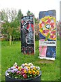 UUU8408 : Teltow - Mauerreste (Berlin Wall Remains) by Colin Smith