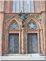 UUU9119 : Berlin - Friedrichswerdersche Kirche - Tuer (Friedrichswerder Church - Door) by Colin Smith