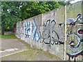UUU9021 : Berliner Mauer - Bergstrasse (Berlin Wall - Bergstrasse) by Colin Smith