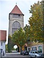 UNV5805 : Schwäbisch Gmünd - Rinderbacher Torturm (Rinderbach Gate Tower) by Colin Smith