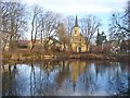 UVU0106 : Bohnsdorf - Dorfkirche und Dorfteich (Village Church and Pond) by Colin Smith