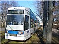 UUS1988 : Leipzig - Strassenbahnwagen (Tram) by Colin Smith