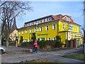 UUU8235 : Stolpe - Gasthof Zur Krummen Linde (Crooked Lime Tree Inn) by Colin Smith