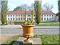 UUU5515 : Schloss Paretz - Dorfseite (Paretz Palace - Village Frontage) by Colin Smith