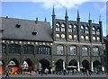 UPE1070 : Rathaus, Lübeck (Town hall, Lübeck) by Alpin Stewart