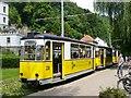 UVS4041 : Kirnitzschtalbahn - Endstation Bad Schandau (Kirnitsch Valley Tramway - Bad Schandau Terminus) by Colin Smith