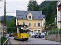 UVS4141 : Bad Schandau - Tram by Colin Smith