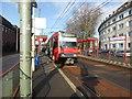 ULB4399 : Tram at Platenenhof by Robert Harvey
