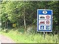 UKA9968 : Winterspelt Steinebrück - Verkehrsregeln an der Grenze by gps-for-five