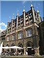 UPE1069 : Rathaus mit den Niederegger Arkadencafé by Sebastian und Kari