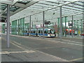 UPC0590 : Straßenbahn am Braunschweiger Bahnhof (Tram at Braunschweig railway station) by Andrew Abbott