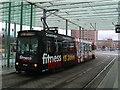 UPC0590 : Straßenbahn 8152 am Braunschweiger Bahnhof (Tram 8152 at Braunschweig railway station) by Andrew Abbott